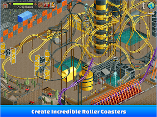 RollerCoaster Tycoon Classic Apk v1.1.3.1702130 Mod Full Unlock/Money Terbaru
