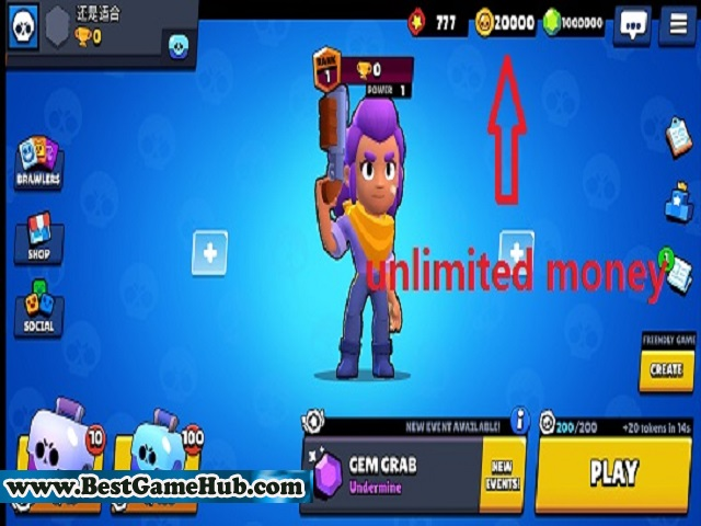Brawl Stars v28.189 Mod Unlimited money Android Game Download Free