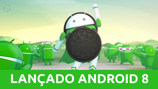Lançado o Android 8