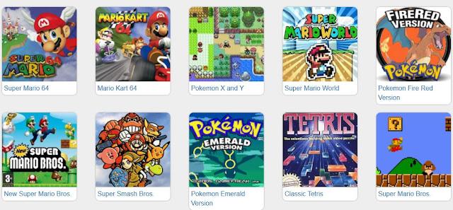 Emulator Online - Dezenas de Retro Games ao teu dispor