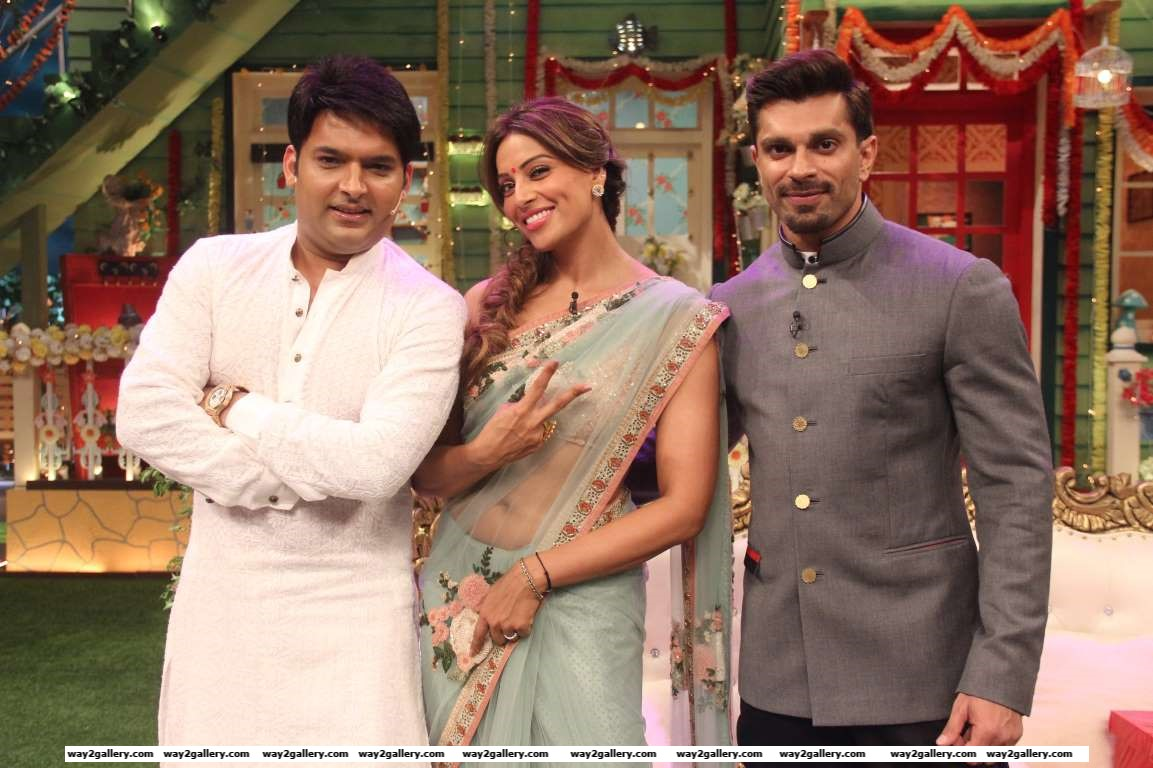 Newlywed Bollywood stars Bipasha Basu and Karan Singh Grover made their first TV appearance after their wedding on The Kapil Sharma Show