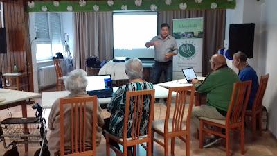 Digitális Jólét workshop a fűzfői TÁMASZ Idősek Otthonában