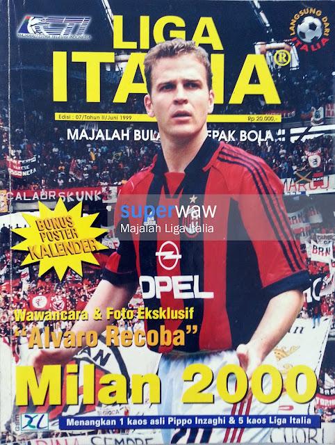 Majalah LIGA ITALIA (Milan 2000)