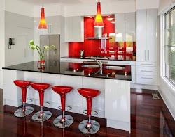 cocinas barras desayunadoras barra decorar desayunadora bien bar espacios
