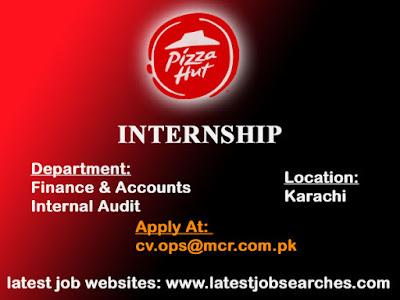 Pizza Hut Internship