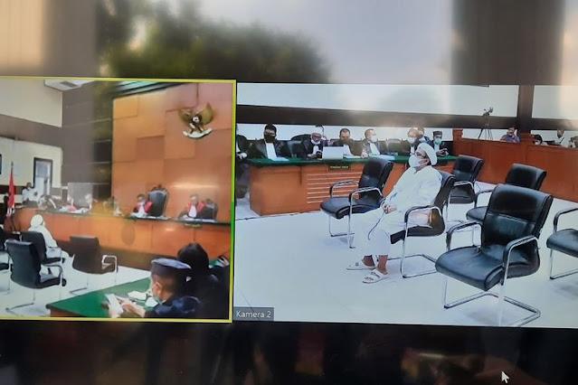 Vonis HRS Denda Rp20 Juta, Hakim Sebut Ada Diskriminasi Kasus Pelanggaran Prokes