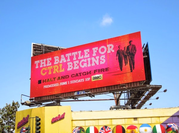 Halt and Catch Fire season 1 billboard
