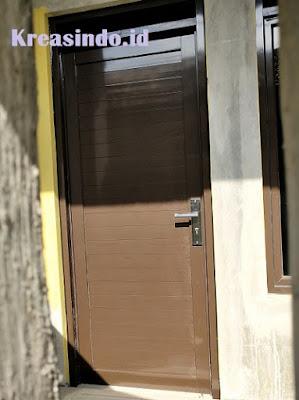 Harga Berbagai macam Pintu Aluminium Tunggal