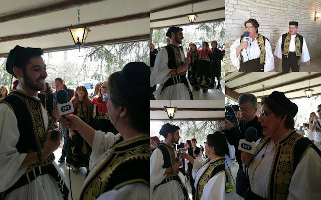 Ηγουμενίτσα: Η αναπαράσταση του παραδοσιακού γάμου, από το Καστρί στην ΕΡΤ1 (ΒΙΝΤΕΟ)