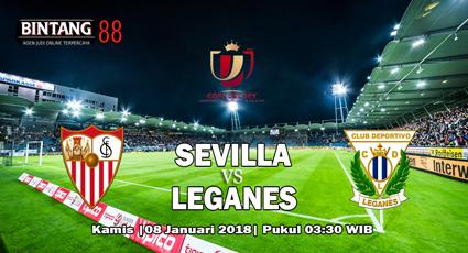 Prediksi Sevilla Vs Leganes 08 Februari 2018