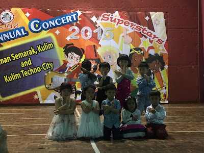 annual concert smart readers kids, srk 2015