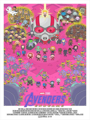 San Diego Comic-Con 2019 Exclusive Marvel's The Avengers Fine Art Giclee Print Series by 100% Soft x Grey Matter Art