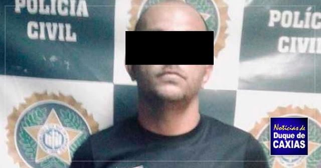Acusado de praticar roubos durante expediente, taxista é preso em Duque de Caxias