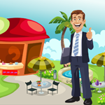 Games4King Happy Businessman Rescue