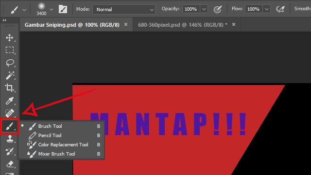 Fungsi Tool Pada Adobe Photoshop CC