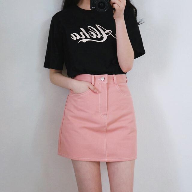 Ulzzang Korean Fashion Plaid Mini Skirt Schoolgirl Summer