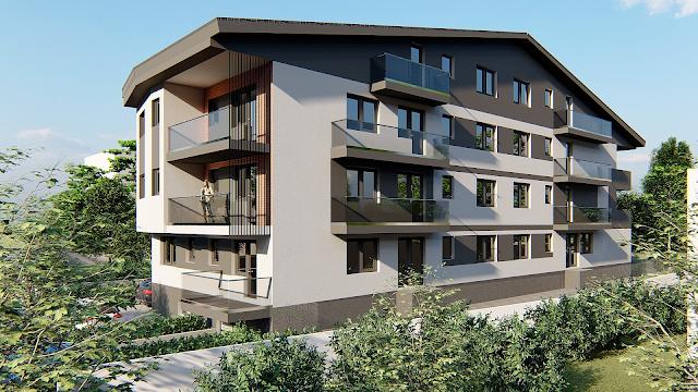 ansamblu rezidential, apartamente bloc nou, apartamente zona centrala