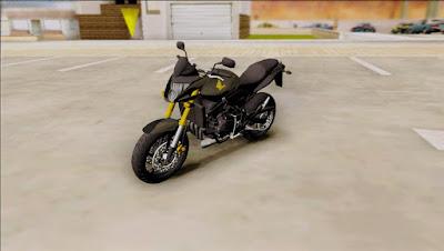 Honda HORNET 2010 ORIGINAL para GTA San Andreas 3
