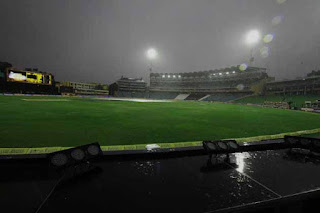 Sri Lanka-New zealand tie abandoned due to rain