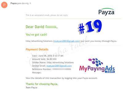 mpa mypayingads payza pagamento payout payment dinheiro