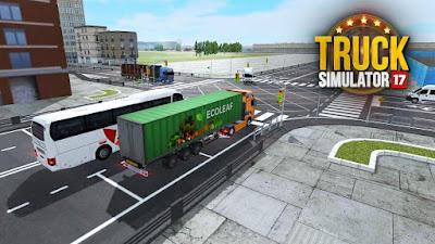 Truck Simulator 2017 Apk + Mod Unlimited Shopping money