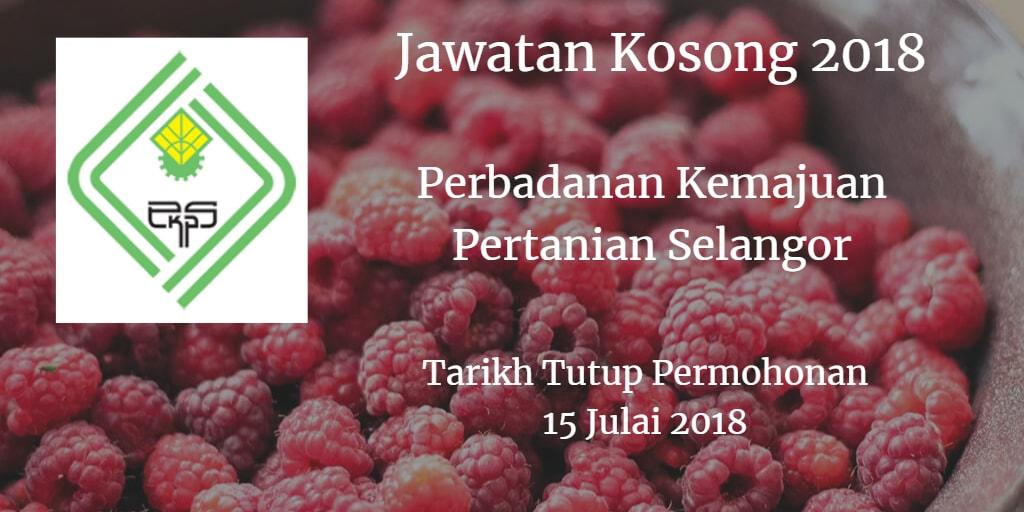 Jawatan Kosong PKPS 15 Julai 2018