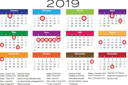Kalender 2020 Lengkap Dengan Tanggal Merahnya