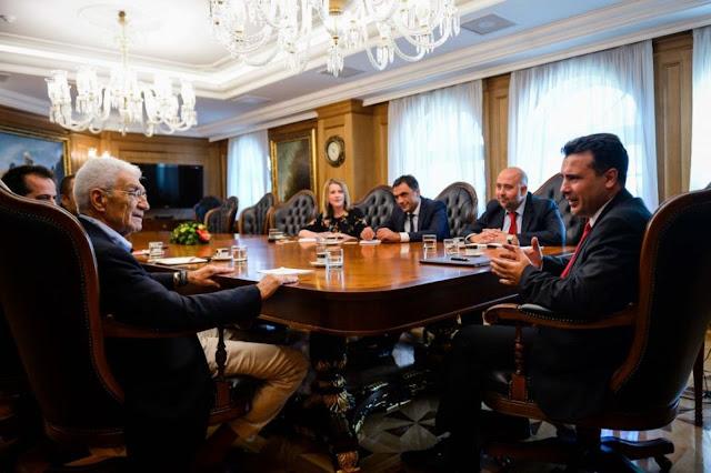 Ζάεφ: Μεγάλος φίλος της χώρας μας ο Γιάννης Μπουτάρης