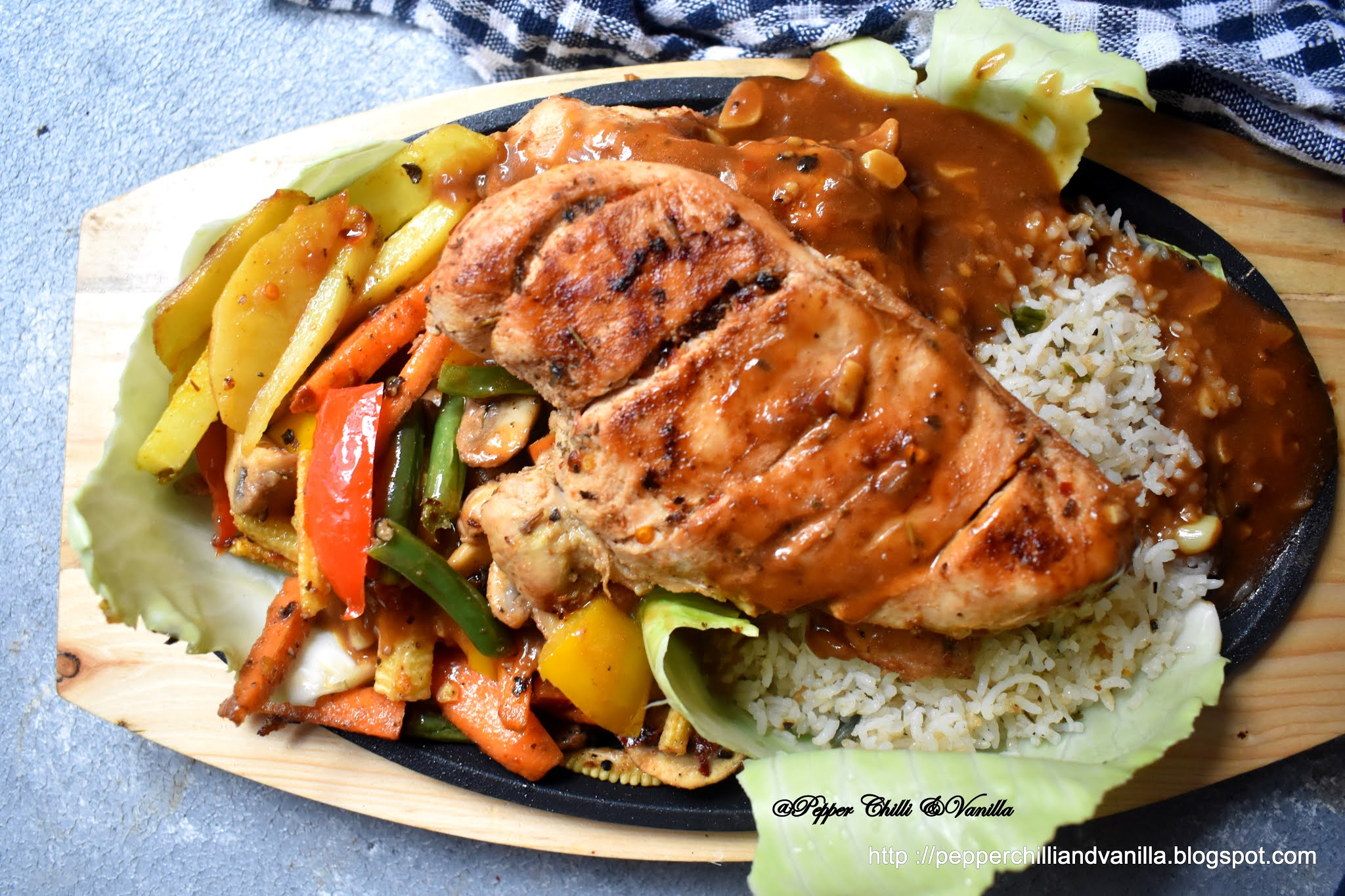 easy chicken grilled sizzler