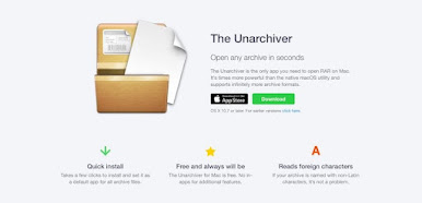 The Unarchiver App Download
