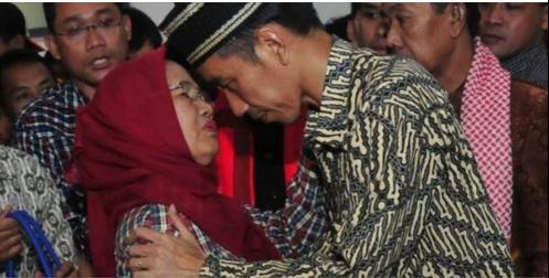 Jokowi dan Ibunda