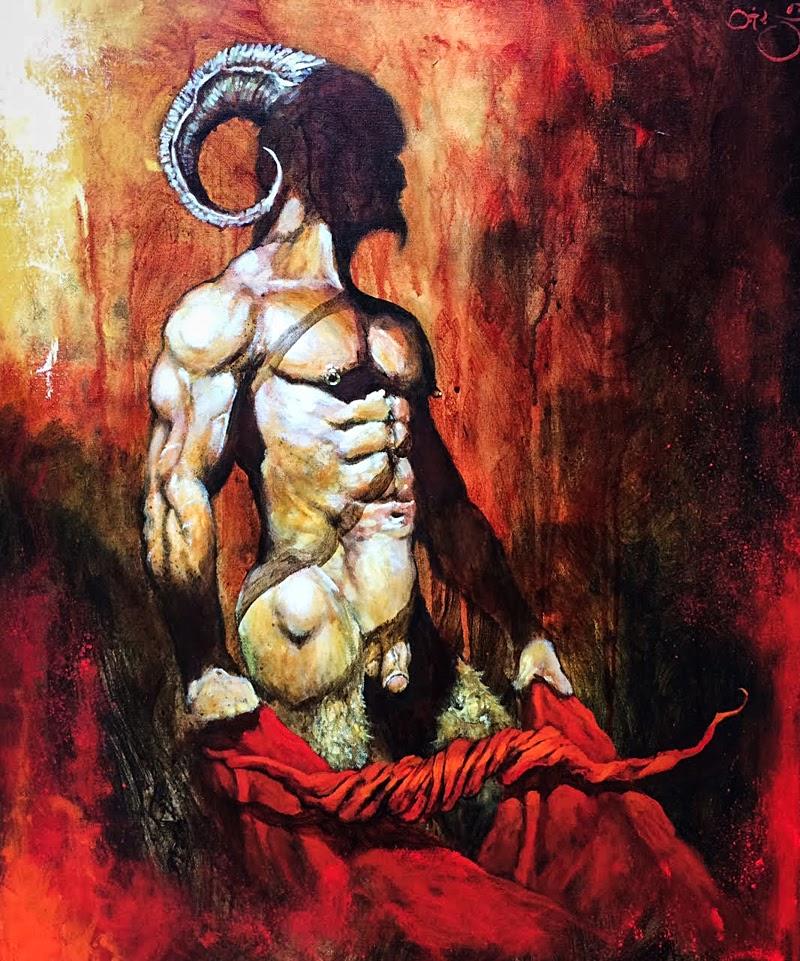 Dark Art Paintings by Steve Otis from Canada.