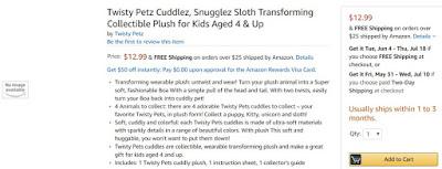 Twisty Petz Cuddlez цена и обзор