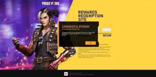 free fire redeem codes 2021 all redeem code rewards