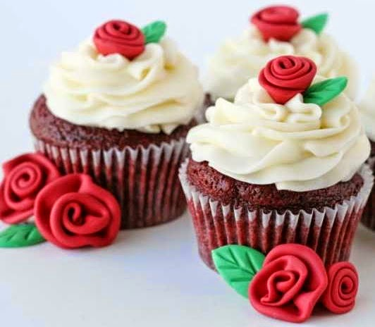 Red Velvet Cupcakes With Chocolate Cake Mix