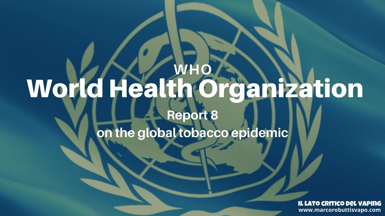 WHO report 8 on global tobacco epidemic