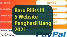 5 Website Penghasil Uang Langsung Ke Rekening, Baru Rilis 2021