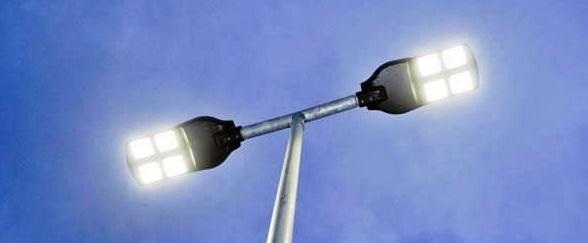 lâmpadas de LED cidade de Roncador