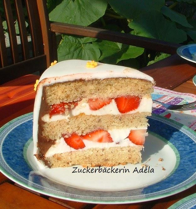 Zuckerbäckerin Adéla Die Torte Zum 60 Geburtstag Meiner Mama