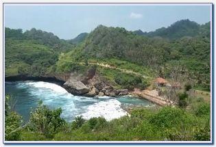Wisata Pantai sembukan Wonogiri