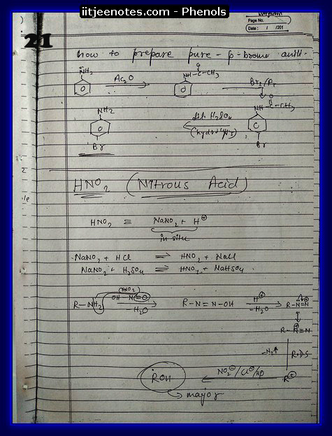 Phenol Notes 7