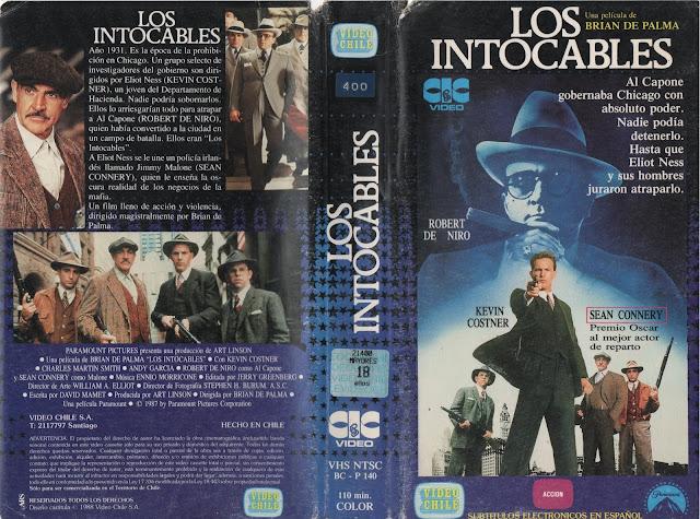 """Pelicula: """"Los Intocables"""" (1987)"""