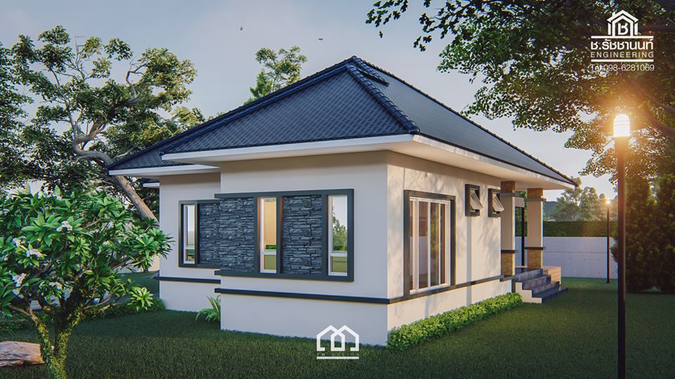 "Looking for a popular house design to build for your family? A house design that may not get old even 20 years from now? If yes, you are looking for a contemporary house design. But let us define first what is contemporary design? According to Wikipedia, Contemporary architecture is the architecture of the 21st century. Some say it is an art of today. By definition, it means, ""existing, occurring or living at the same time"".  Currently contemporary home features a large, unique or odd shapes windows, with an open plan that blends with surrounding landscape. In a contemporary home, comfort and sustainability are the two important factor to observe.  Below are samples of contemporary house design from TM design.  This article is filed under Small House, Small Home Design, Beautiful Small House Design, Small House Plans Modern, Simple Small House Design and Bungalow House Design."