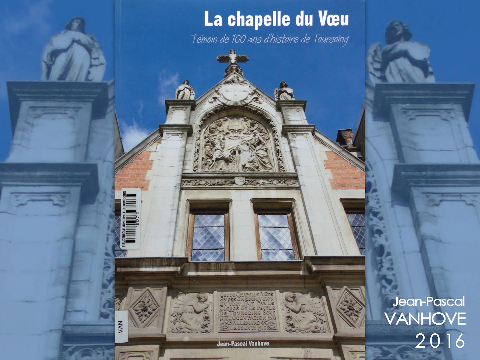 Couverture du Livre La Chapelle du Voeu, Vanhove.