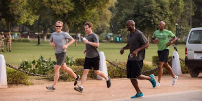 Mark Zuckerberg Sanggup Berlari 33 Km