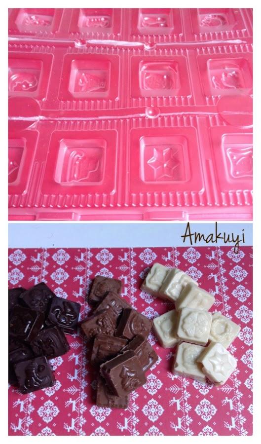 moldes chocolate
