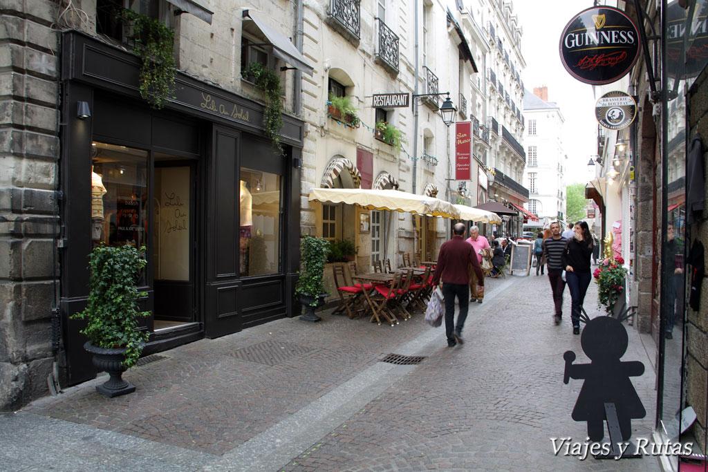 Rue du Chateau, Nantes