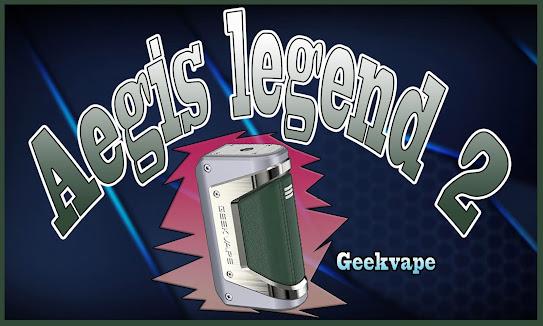 Kit Geekvape L200 (Aegis Legend 2) 200W