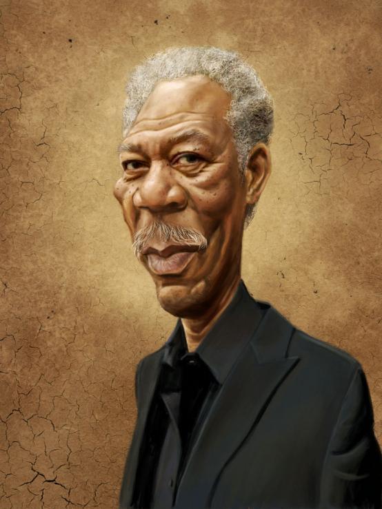 Morgan Freeman por Mark Hammermeister