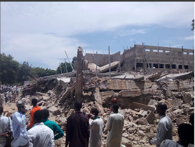 , Kano Tragedy: More Than 20 person Killed As Building Under Construction Collapsed, Latest Nigeria News, Daily Devotionals & Celebrity Gossips - Chidispalace